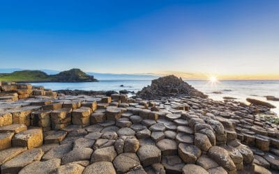 The mysterious Giant's Causeway