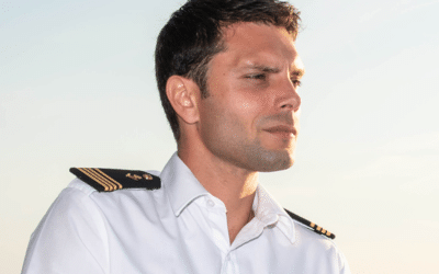 "Florian Richard, Captain of Le Lapérouse: ""It's magical watching a new ship taking shape"""