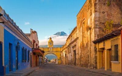 Le temps d'une balade à Antigua Guatemala