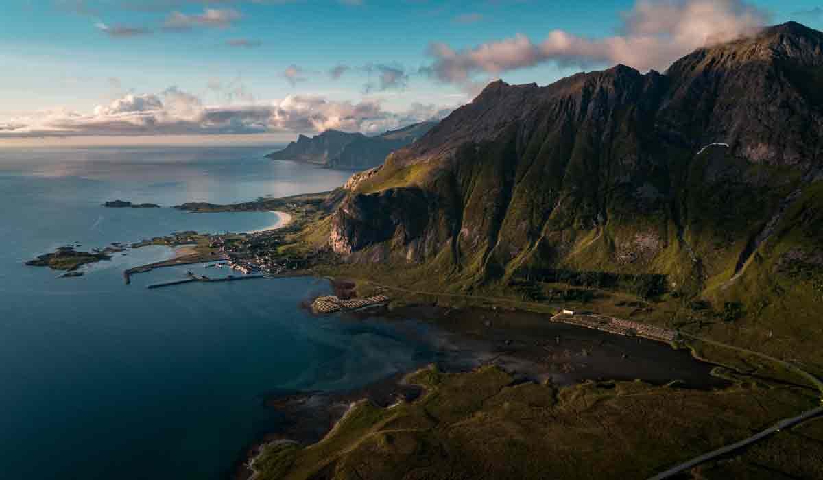 Norvege-fjord-mer