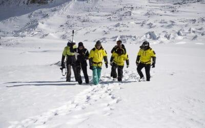 Training dans le Queyras pour les chefs d'expédition PONANT