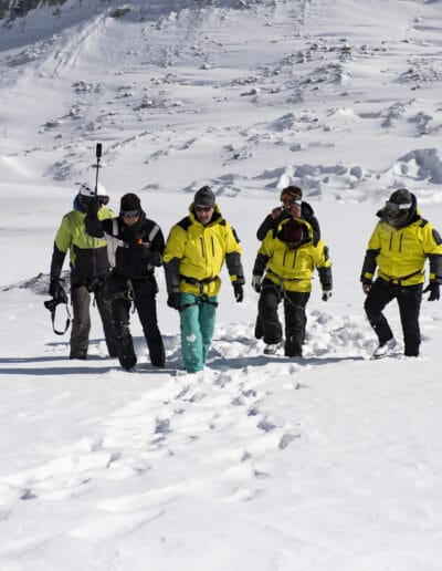 PONANT expedition leaders training in the Queyras