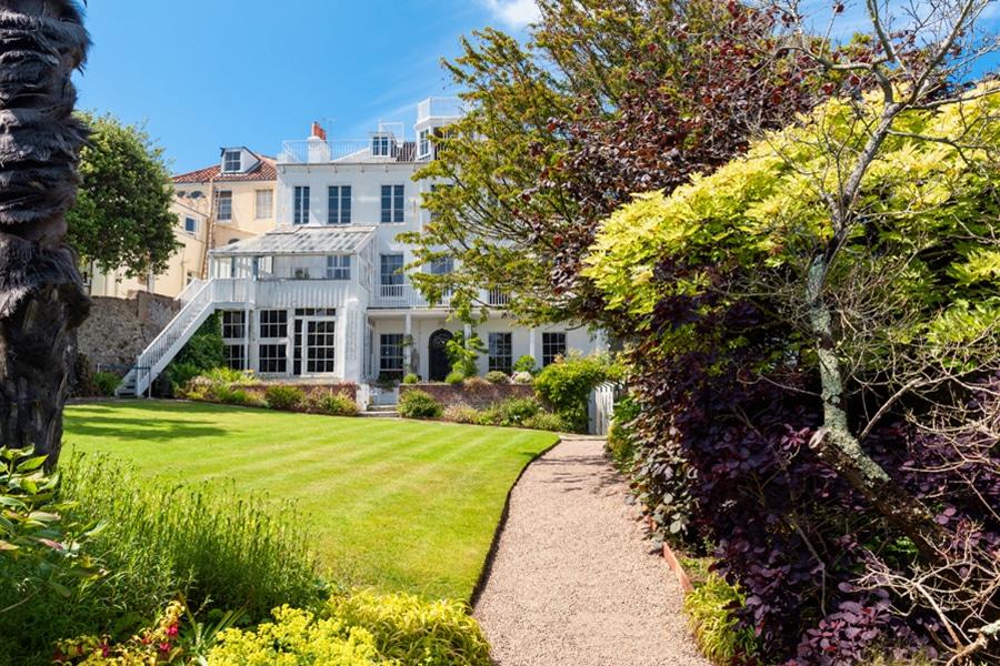 Hauteville House in Saint Peter Port Guernsey